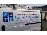 Michael Stewart Painter and decorator for all your decorating needs.