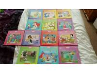Disney princess books x13