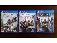 Assassin's Creed collection PS4