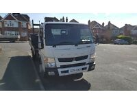 Mitsubishi Canter 7.5 Ton Tipper for sale, full service history very tidy truck