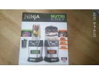 Ninja 1200W Ultimate Chopper, Blender & Mini Food Processor with Auto-iQ NN100UK