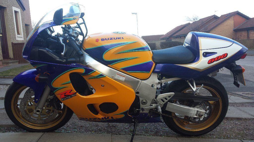 2000 suzuki gsxr600 corona colours genuine 17k moted march 2016 suberb original bike can deliver