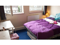 Huge double room nonsmoker girls free bicycle all bills included flexible duration stay
