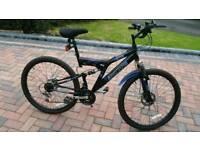 For sale. Silverfox Orb 26inch Dual disc Mountain bike.