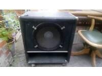 Large Bass Speaker Cabinet.
