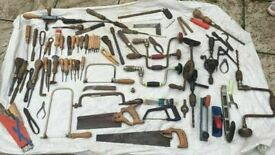 **HAND TOOLS JOB LOT**PRICES START FROM £1**CARPENTER TOOLS**VINTAGE**MORE AVAILABLE**