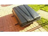 Autoplas roof box + rack