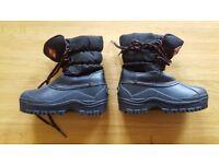 Children's Snow Boots Size 10