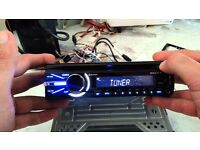 MEX-BT3900U car radio with all accessories and remote controller. cost £129.99