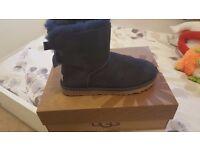 Ladies blue ugg boots genuine