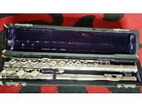 Sapphire Rosetti silver flute
