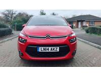 2014 Citroen C4 Picasso 1.6 e-HDI Airdream VTR+5dr Red Only 36K Mileage