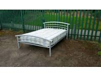 Nice double Bed with mattress (delivery available)