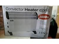 Brand new elpine converter heater 2000w