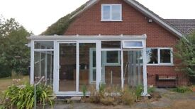 UPVC Conservatory, double glazed in Excellent Condition