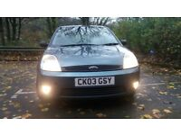 FORD FIESTA ZETEC 1.3 LOW MILEAGE 12 MONTHS NEW MOT IMMACULATE CHEAP TAX INSURANCE ECONOMICAL CAR
