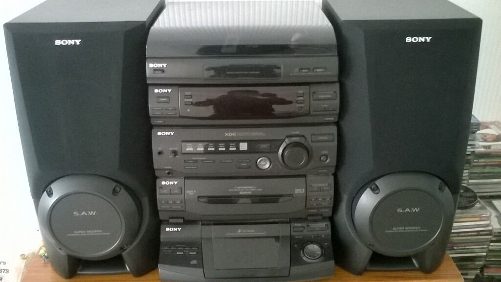 Sony Xb6 Fully Remote Controlled Compact Hi Fi Stereo
