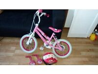 "Hello Kitty Kids Bike 14"""