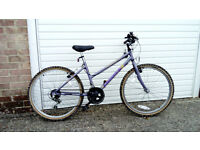 Girls 10 gear bike will suit 8 to 12 year old
