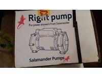 Power Shower Pump Salamander RSP50 1.5