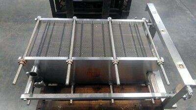 Api Heat Transfer Plate Heat Exchanger Model S26-750-121 Size 44x20x12