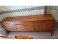 Vintage 60s Retro Mid Century Danish Style Drawers Sideboard,Delivery Available