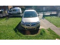 Vauxhall zafira 1.6 only 31,000 miles and 3 previous owners before myself
