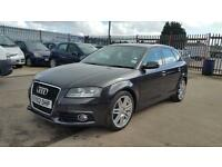 2012 Audi A3 s line 1.6 petrol 5 door hatchback 12 months mot genuine low mileage