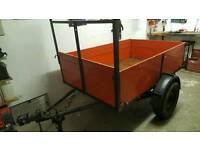 Car trailer 6ft x 4ft (quad, firewood, garden)