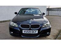 2009 [59] BMW 320D LCI MODEL BLACK 11 MONTHS MOT - JUST SERVICED (PART EX WELCOME)