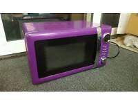Purple Wilkinson microwave.