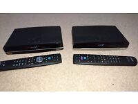 * BT Youview/freeview recorder: DTR - T4000 4K Ultra HD,1TB & DTR - T2100 HD