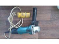*Still available* Makita 4 inch 110v angle grinder