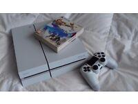 Ps4 ltd matt white CUH-1216A ps4 console boxed & warranty & ltd edition Horizon Zero Dawn.