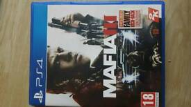 Mafia 3 PS4. Immaculate condition.