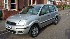 Ford Fusion, 1.6, 5dr, Petrol, 97k miles FULL SERVICE HISTORY