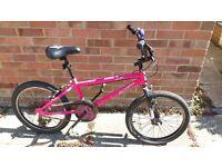 Hot Pink BMX Bike