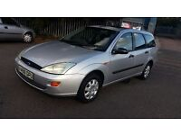 1999 ford focus 1.6 Litre engine, estate, in very good condition inside and outside, 95000 mileage