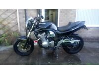 Immaculate Suzuki 600 Bandit for sale in black.