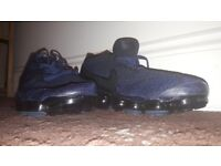 Nike Vapormax Flyknit College Navy Size 9 New Rare