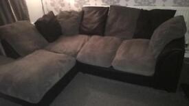 Corner sofa FREE TV STAND