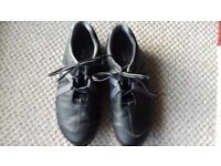 GOLF SHOES FOOTJOY SIZE 9 1/2 BLACK WORN 3 TIMES COST £65