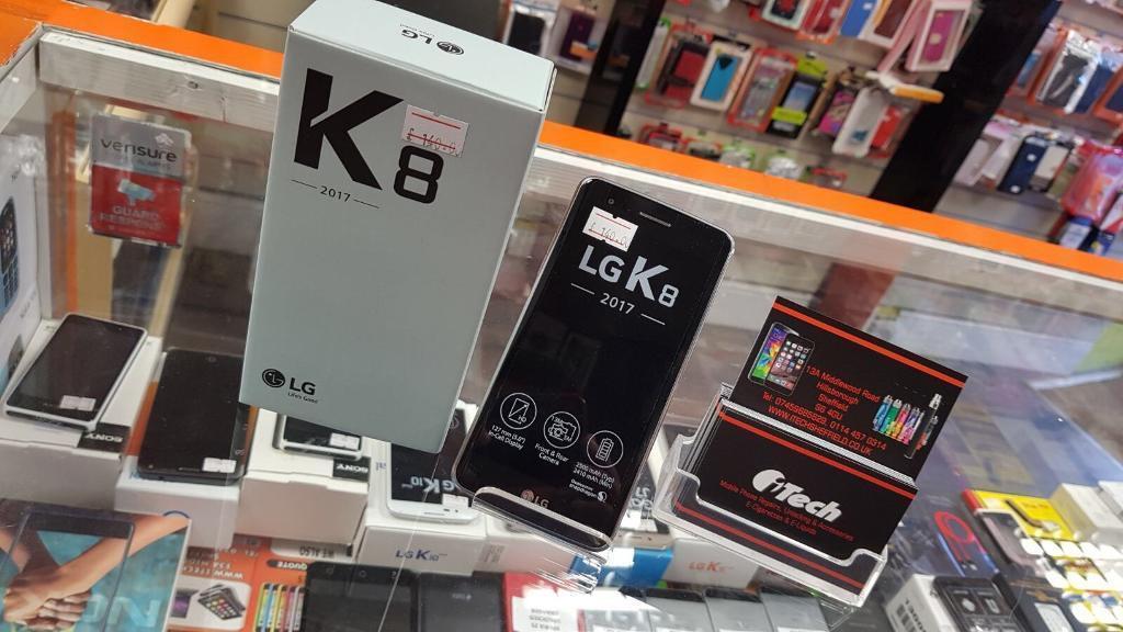 LG K8 - 2017 unlocked new boxed