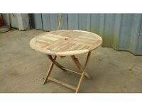 Firman garden table