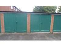 Secure lockup garage cheap storage for household or vehicle 24/7 access in ideal location in Rugeley