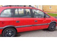 Vauxhall zafira comfort 1.6 petrol manual