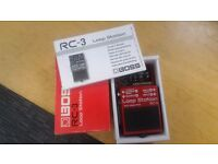 Boss RC3 - Loop Pedal - as new