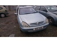 2002 CITROEN XSARA LX, 2LT HDI, BREAKING FOR PARTS ONLY, POSTAGE AVAILABLE NATIONWIDE