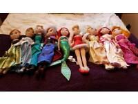 9 Disney dolls( now reduced)