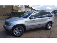 BMW X5 2.9 d Sport 5dr Silver ,black leather , HPI CLEAR,FULL SERVICE HISTORY